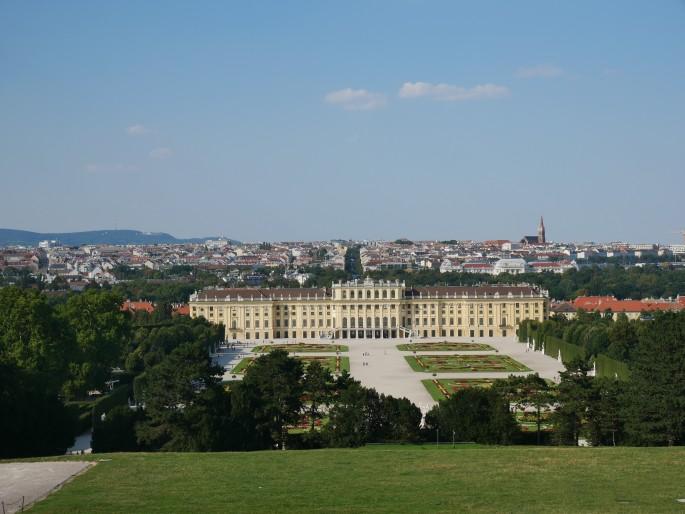 Garden of Schonbrunn